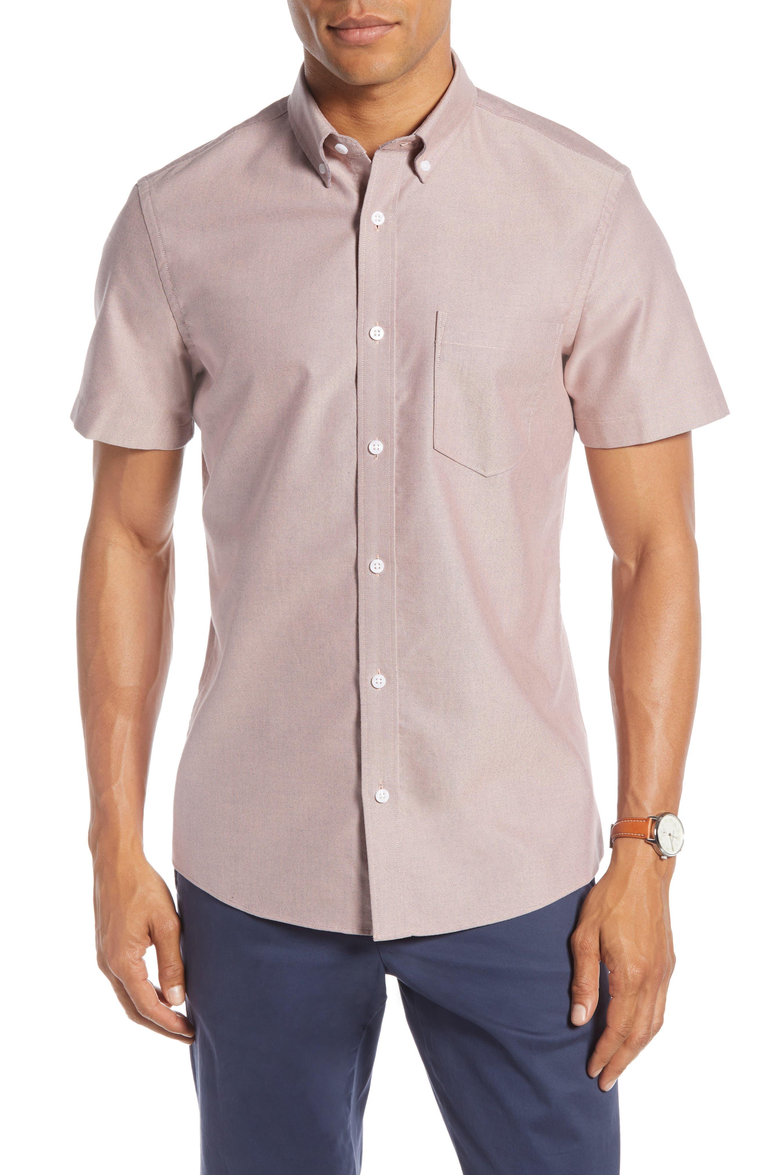1901 Solid Slim Fit Sport Shirt