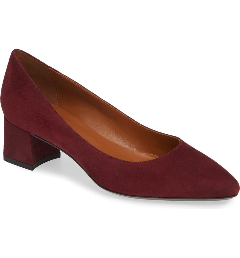 AQUATALIA Pasha Pump, Main, color, WINE SUEDE