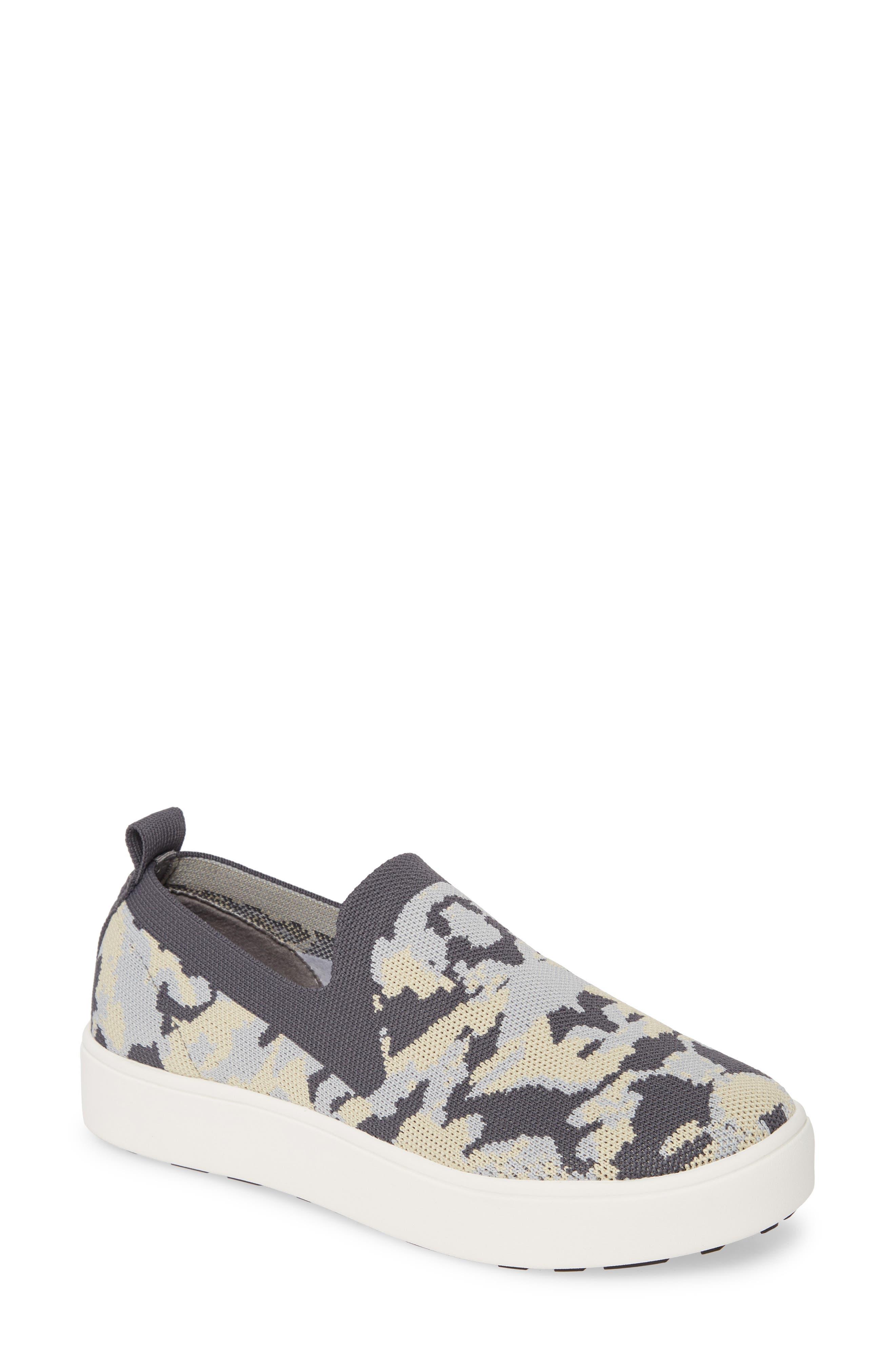 Bernie Mev. Jenna Slip-On Sneaker, Grey