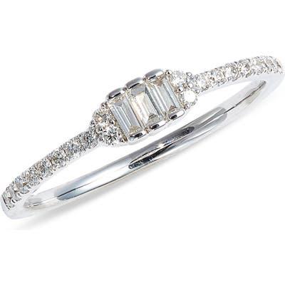 Bony Levy Gatsby Three-Stone Diamond Ring