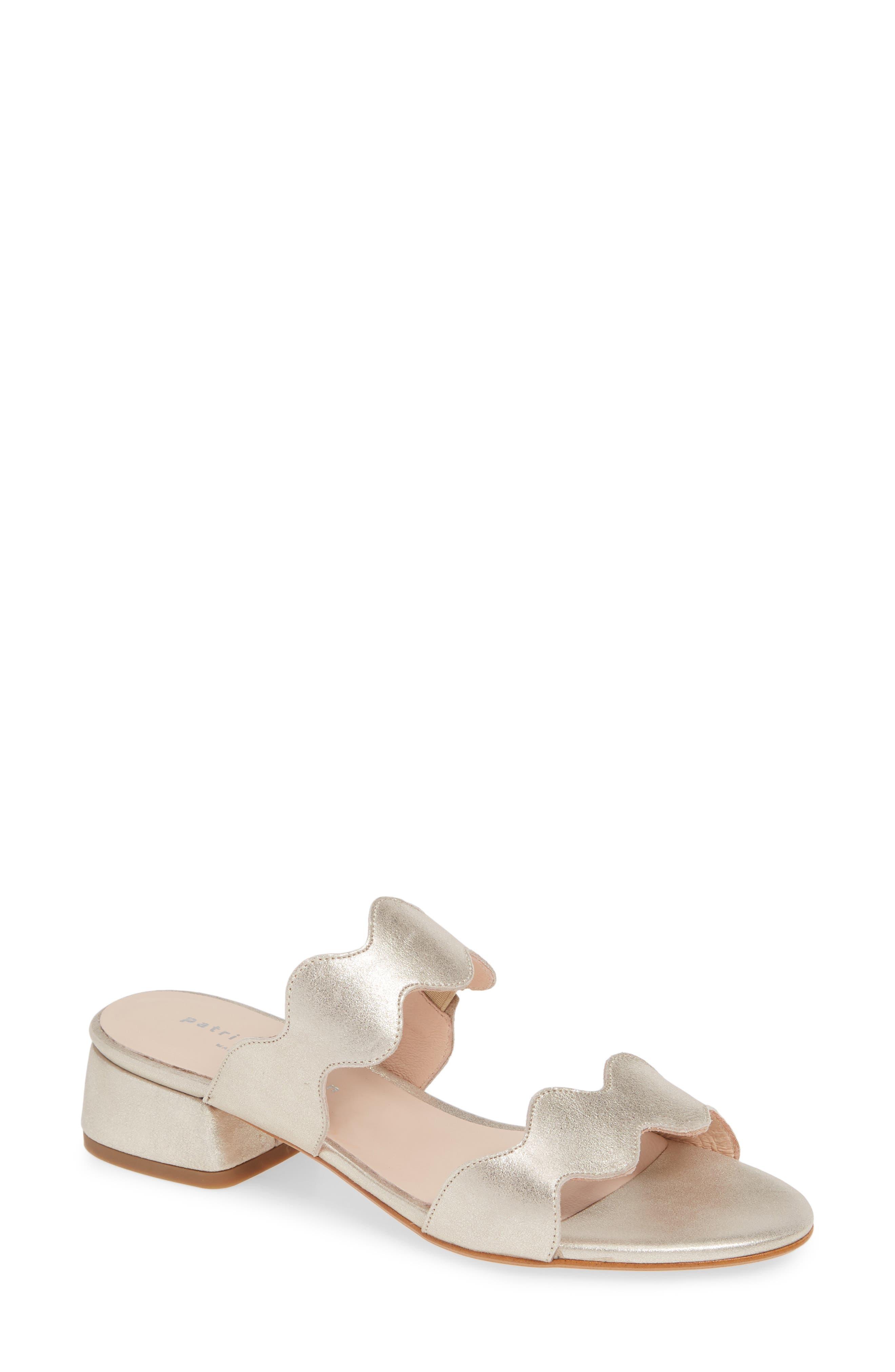 Patricia Green Bali Slide Sandal, Metallic
