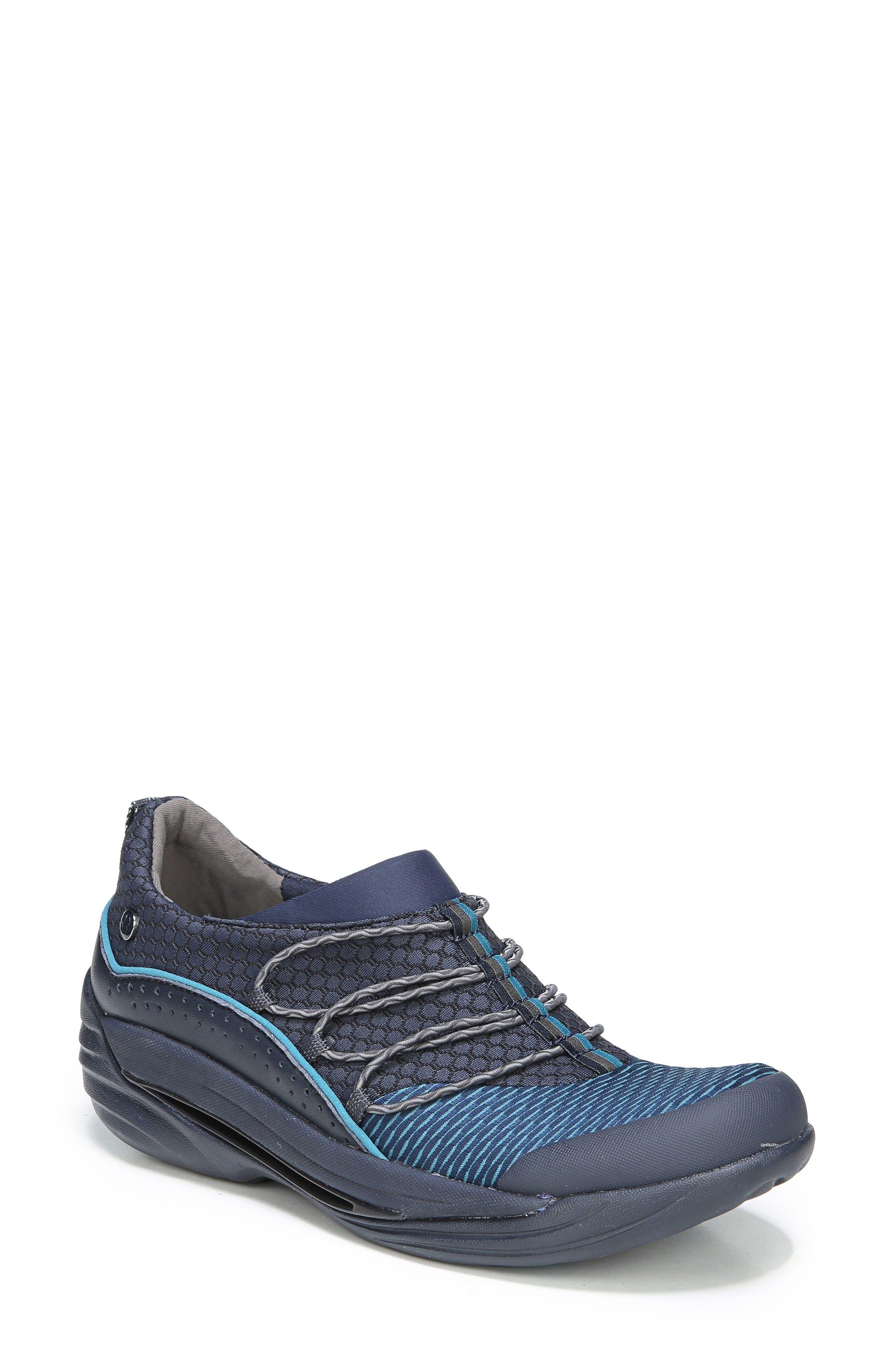 Bzees Pisces Slip-On Sneaker, Blue