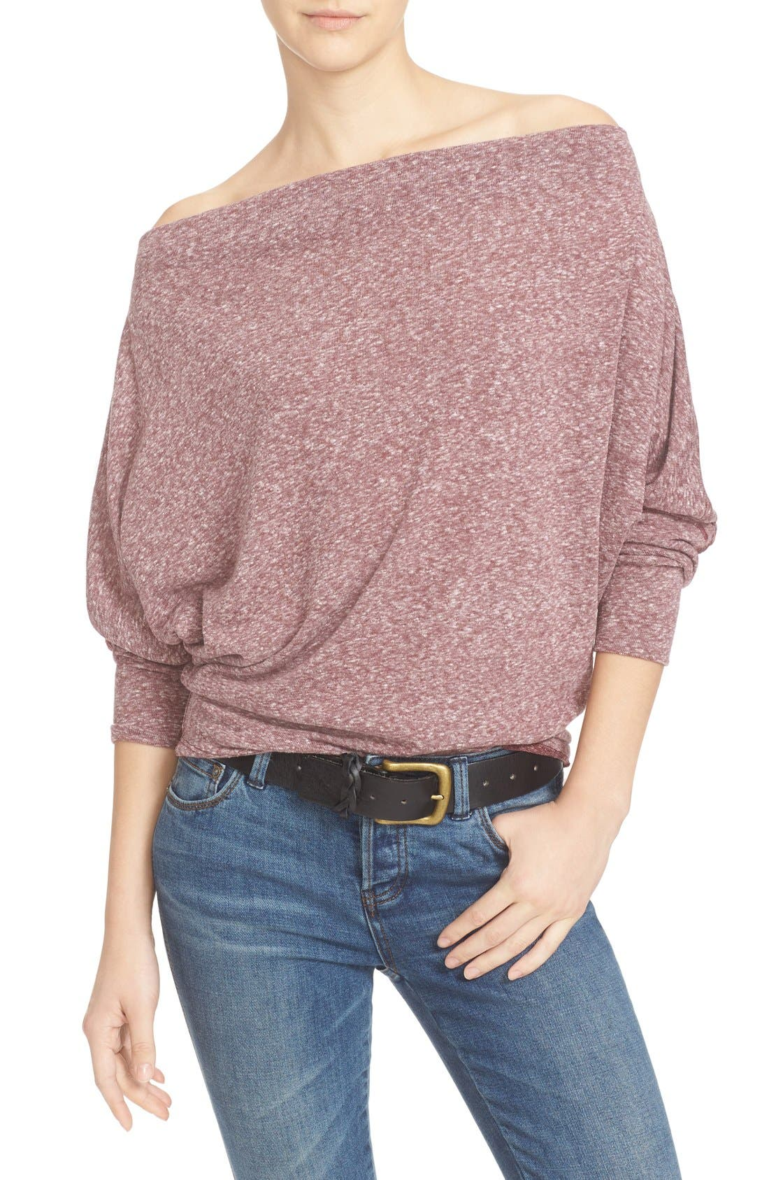 ,                             Valencia Off the Shoulder Pullover,                             Main thumbnail 41, color,                             506