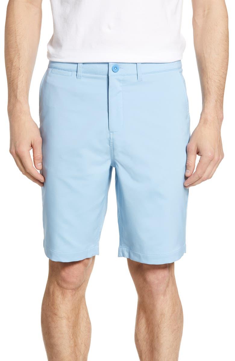 JOHNNIE-O Mulligan Regular Fit Prep-Formance Shorts, Main, color, STERLING