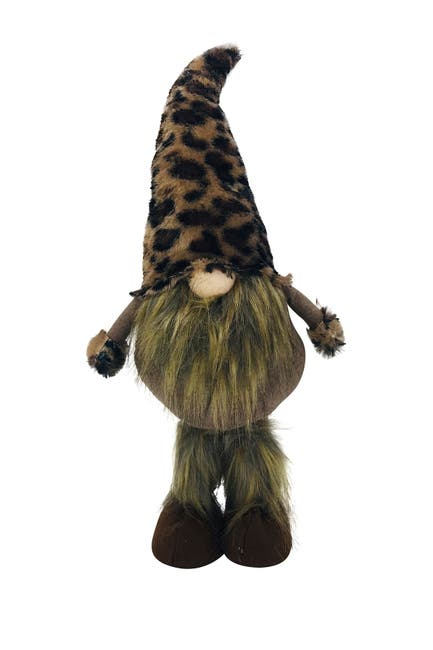 Image of G.T. DIRECT Brown Cheetah Fabric Gnome