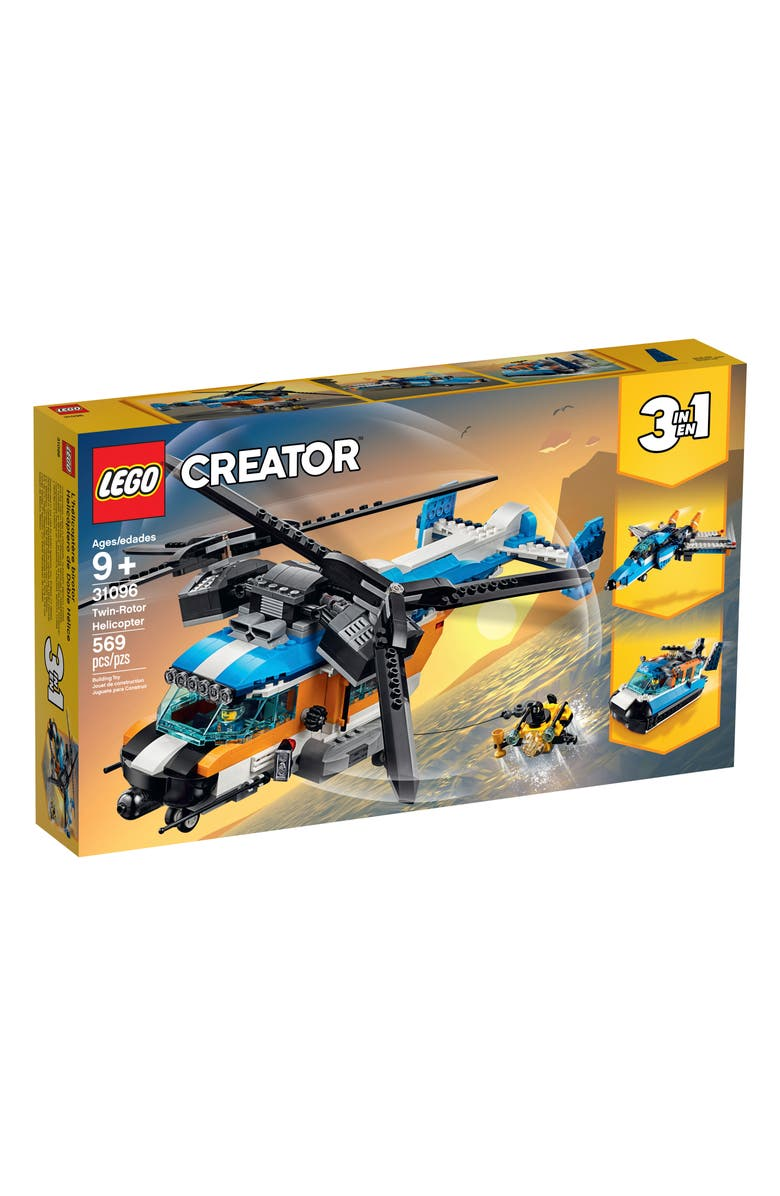 LEGO<SUP>®</SUP> Creator Twin-Rotor Helicopter - 31096, Main, color, MULTI