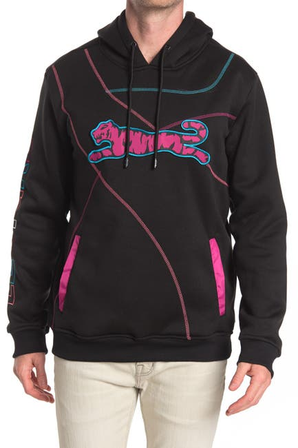 Image of Le Tigre Spiral Logo Pullover Hoodie