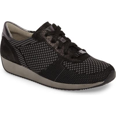 Ara Lilly Sneaker- Black