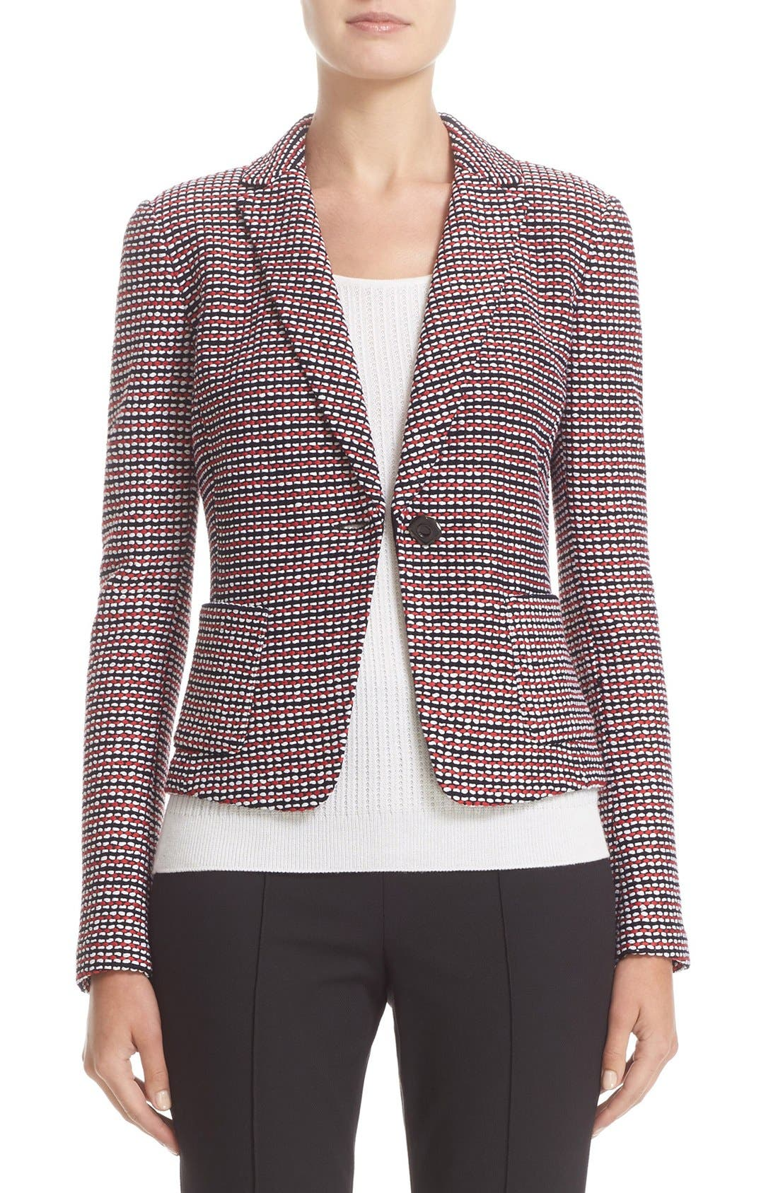 Image of St. John Collection Martinique Tweed Knit Jacket