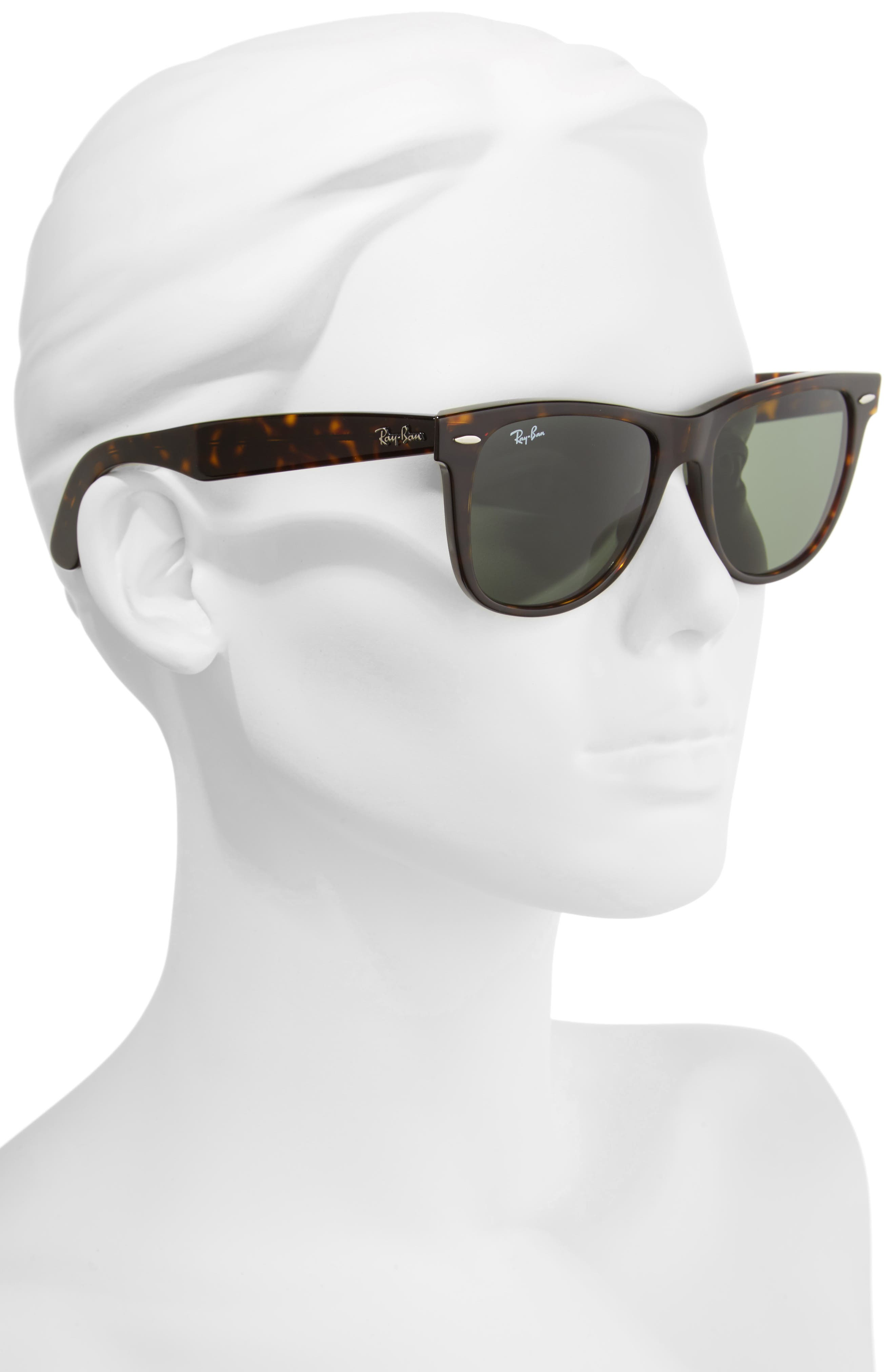 ,                             Large Classic Wayfarer 54mm Sunglasses,                             Alternate thumbnail 5, color,                             200