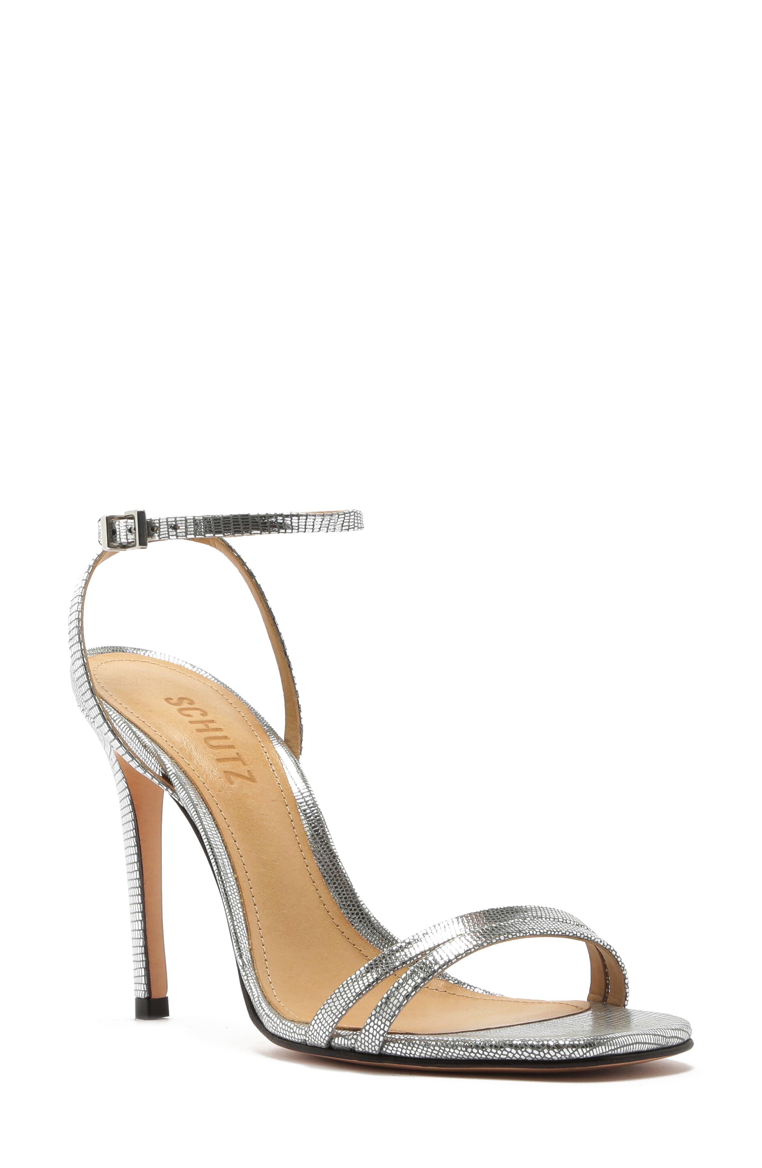 Schutz Slippers Altina Ankle Strap Sandal