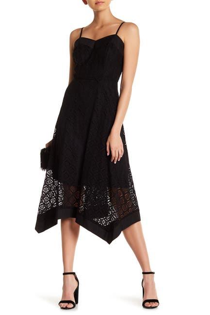 Image of NANETTE nanette lepore Sleeveless Lace Handkerchief Dress