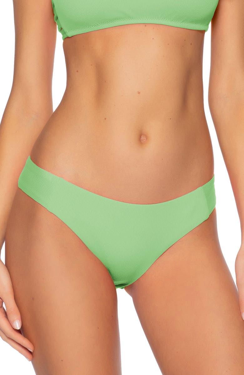 BECCA Fine Line Tab Side Bikini Bottoms, Main, color, 334