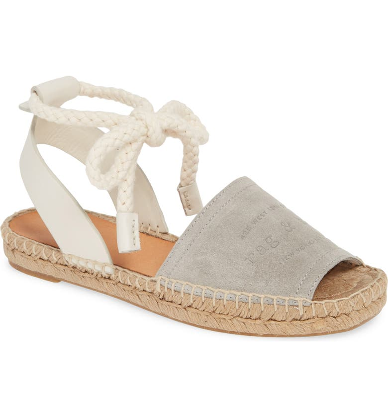 RAG & BONE Estelle Espadrille Sandal, Main, color, CEMENTO