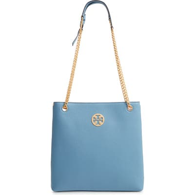 Tory Burch Everly Leather Swingpack - Blue