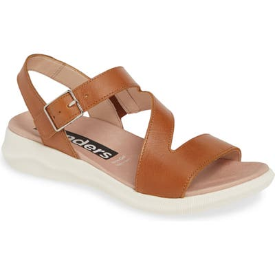 Wonders Platform Sandal, Brown