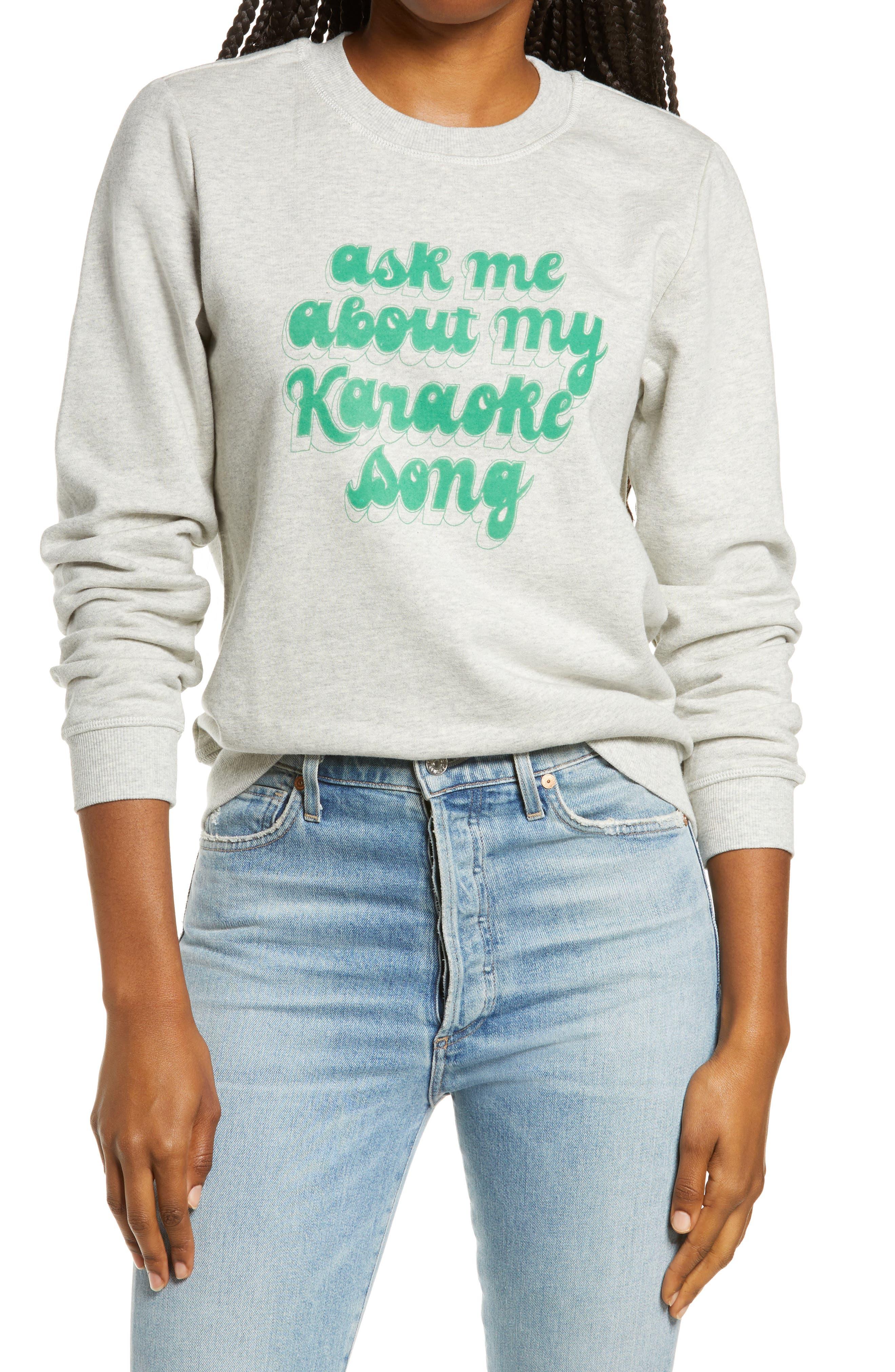 Women's Ban. do Karaoke Song Sweatshirt