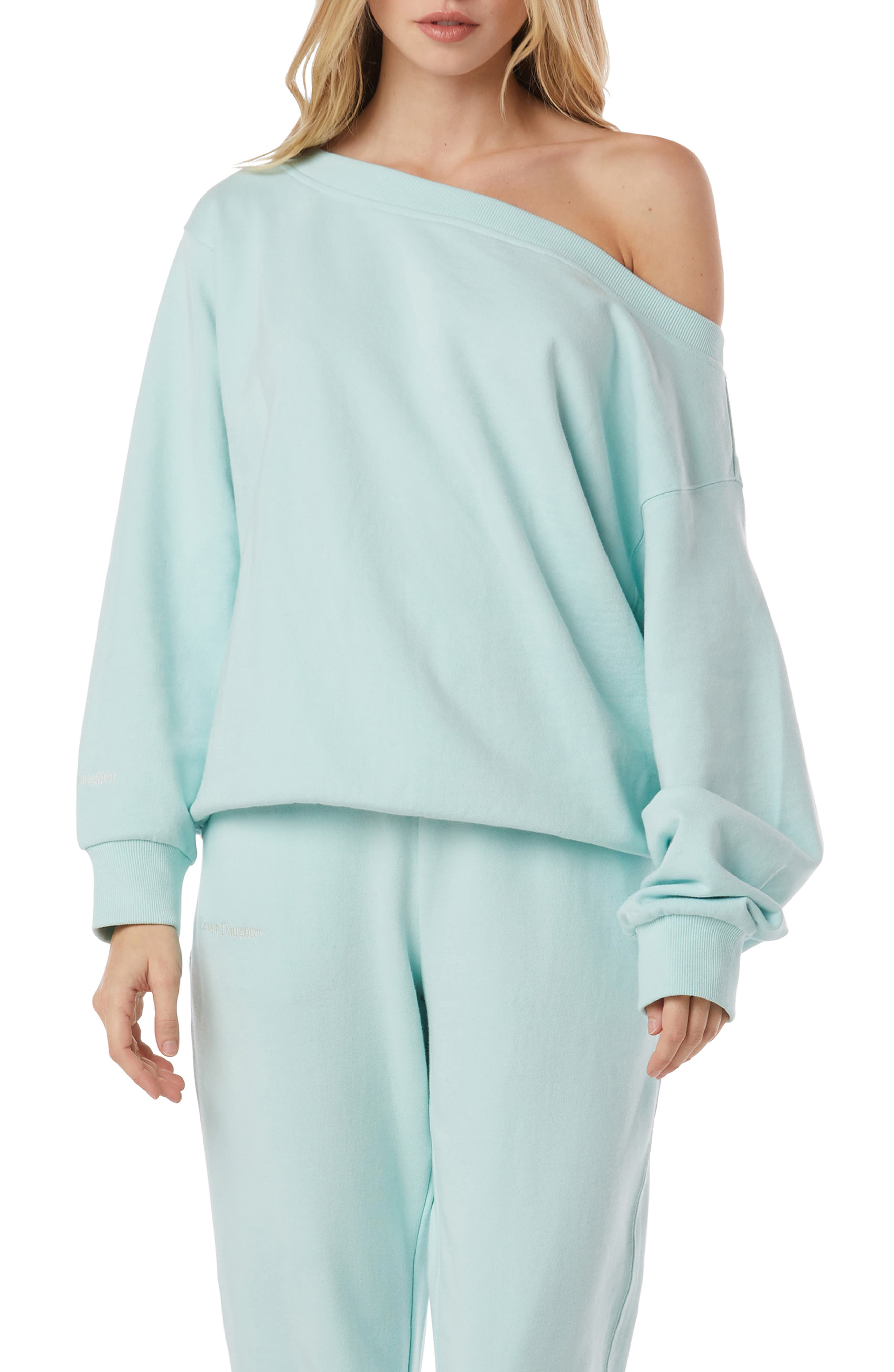 Relaxed One-Shoulder Pullover