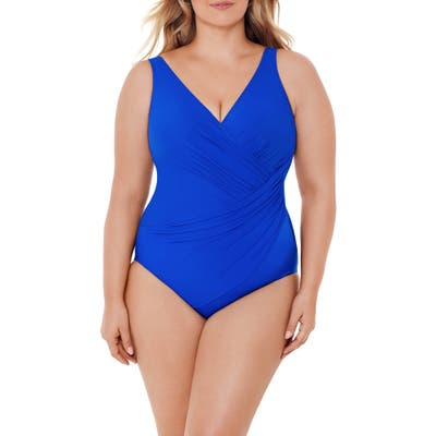 Plus Size Miraclesuit Must Have Oceanus One-Piece Swimsuit