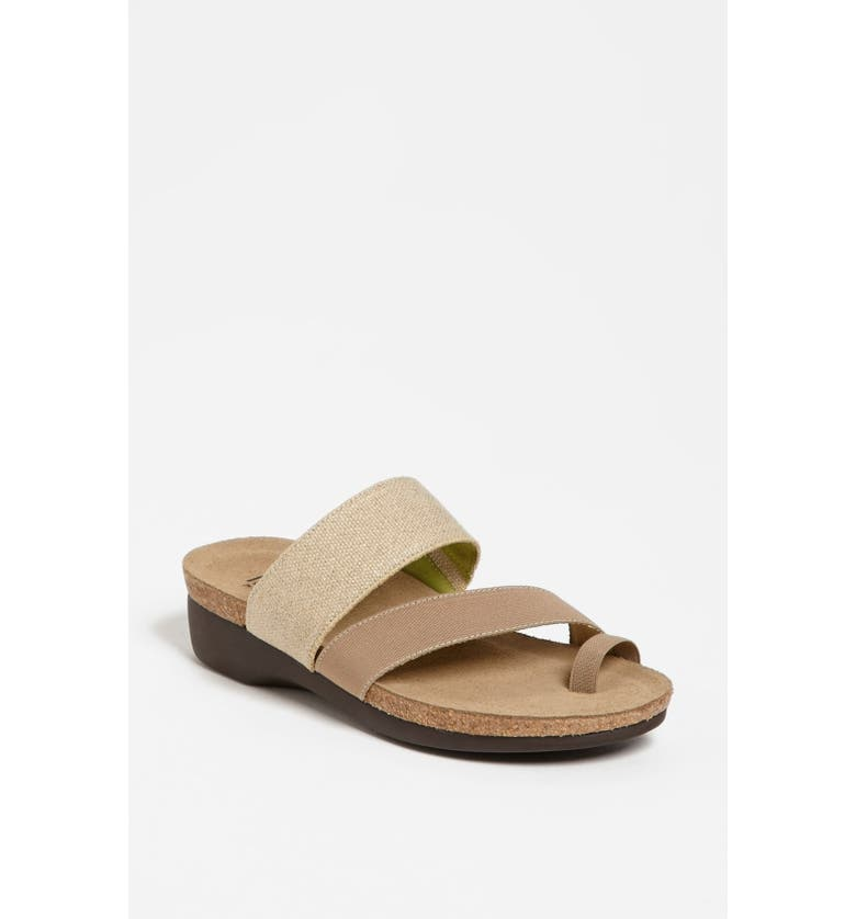 MUNRO 'Aries' Sandal, Main, color, NATURAL