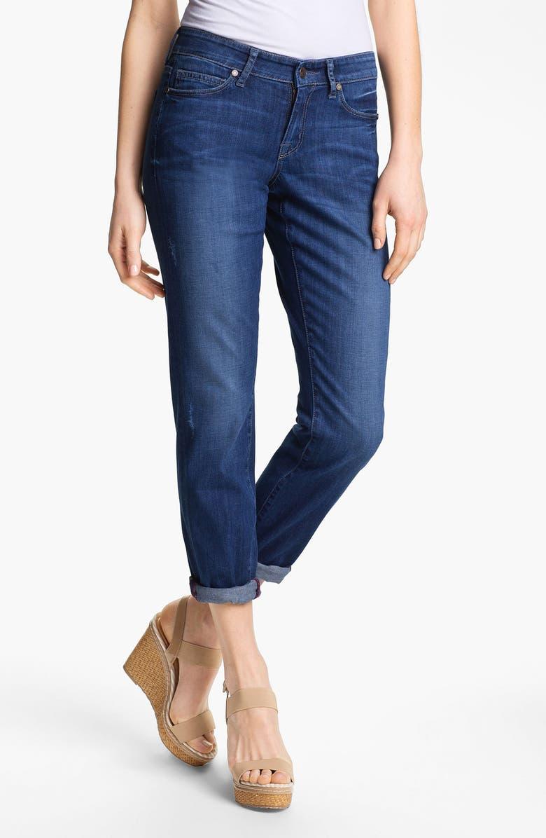 CJ BY COOKIE JOHNSON Slim Boyfriend Stretch Jeans, Main, color, 400