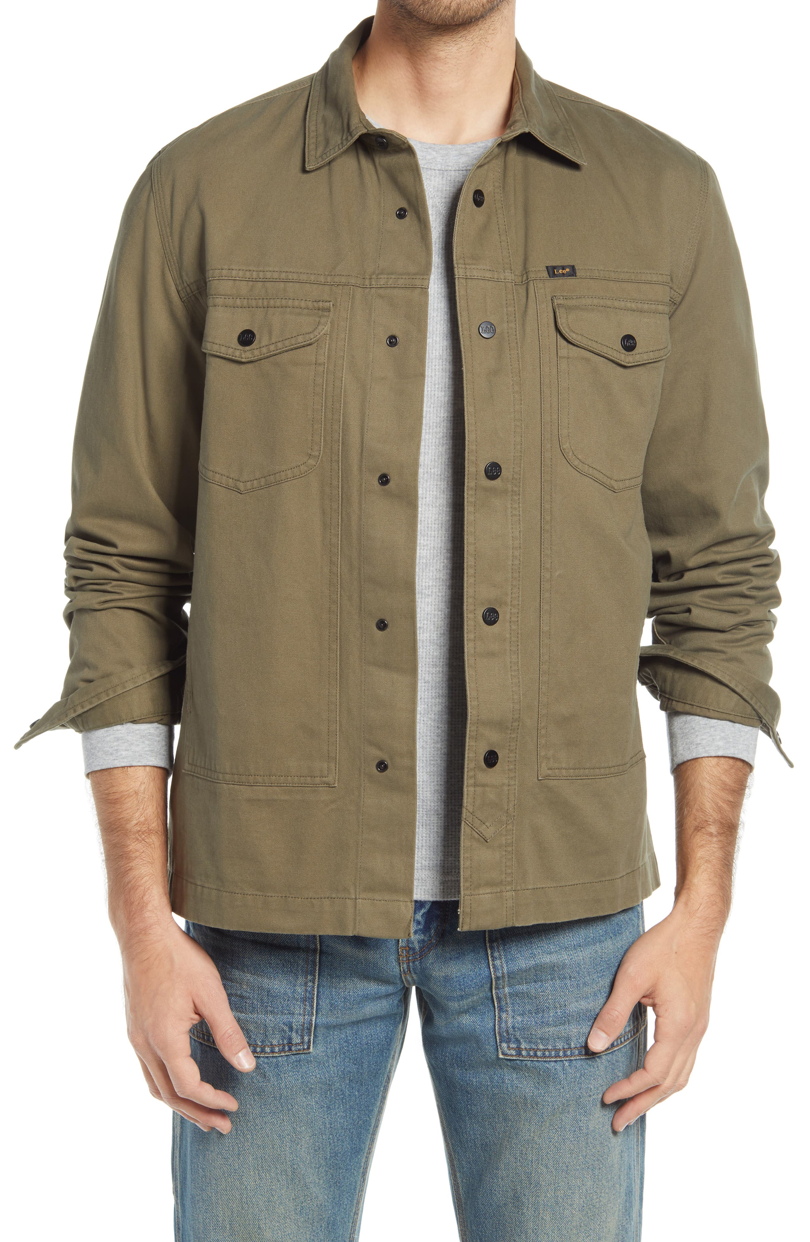 Military Snap-Up Workshirt