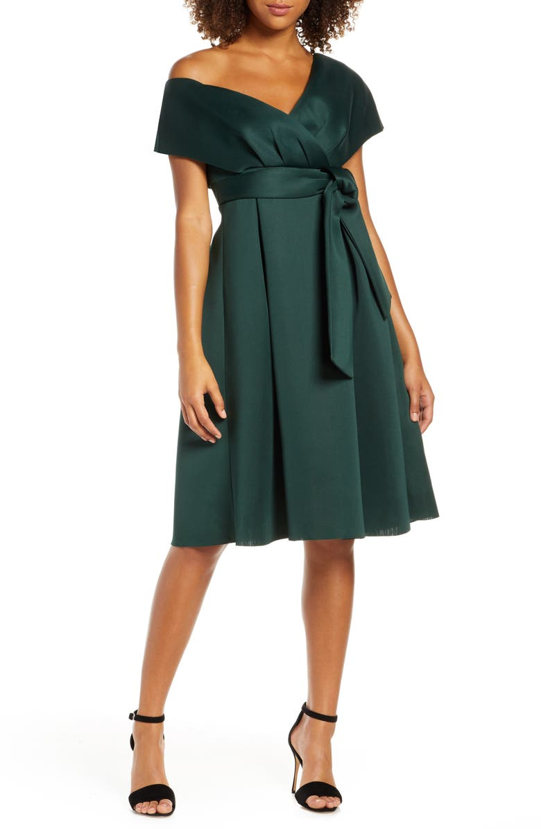 CHI CHI LONDON Edel Cocktail Dress, Main, color, TEAL