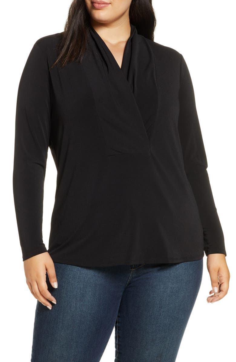 NIC+ZOE Fundamental Top, Main, color, BLACK ONYX