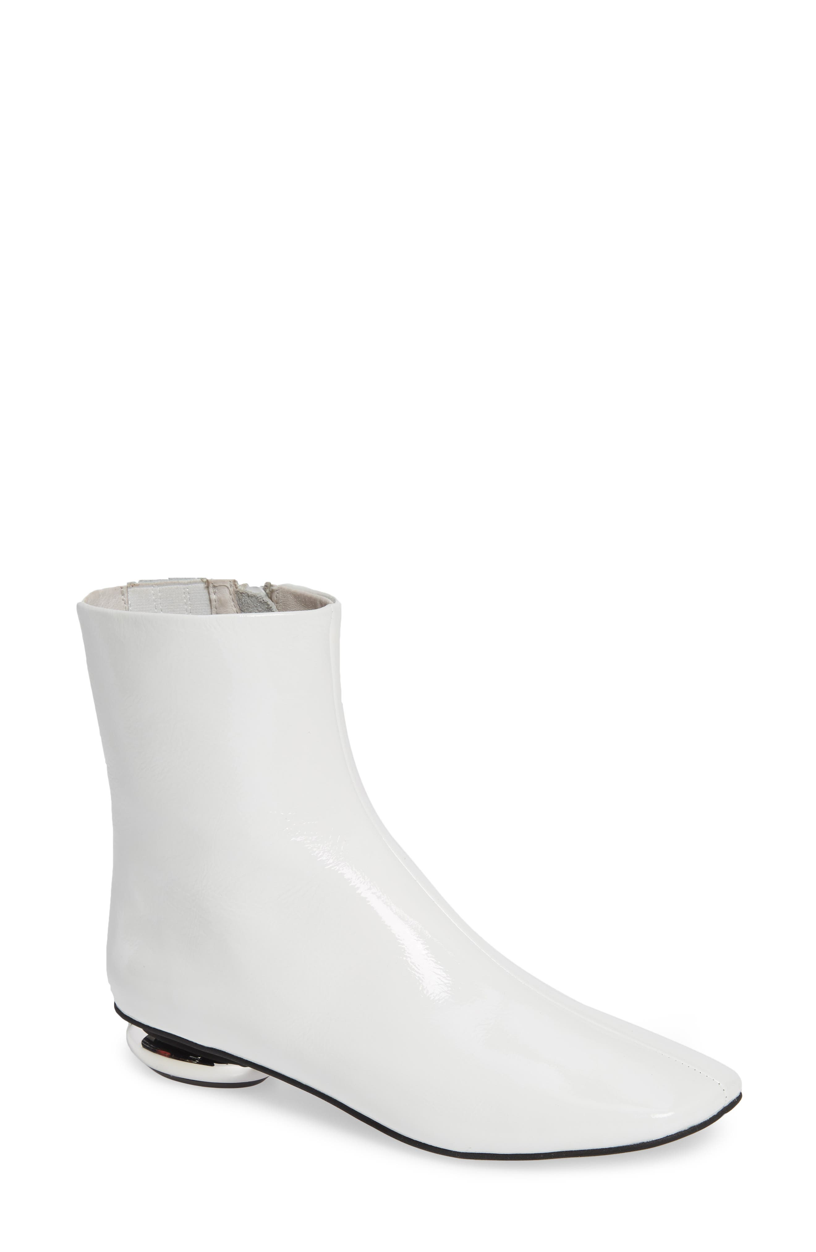 Jeffrey Campbell Moon Grl Bootie- White