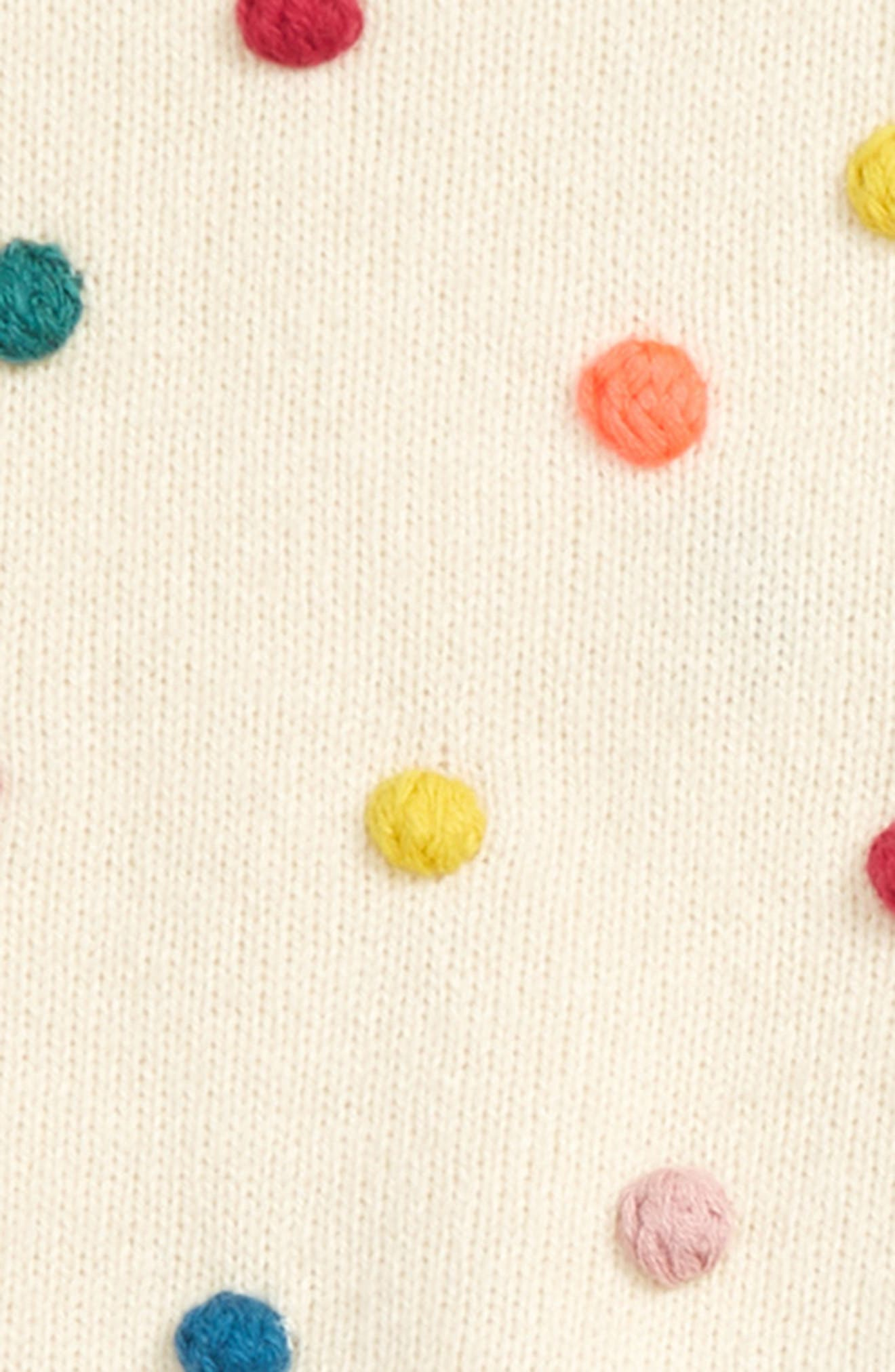 ,                             Pompom Knit Sweater & Pants Set,                             Alternate thumbnail 2, color,                             100