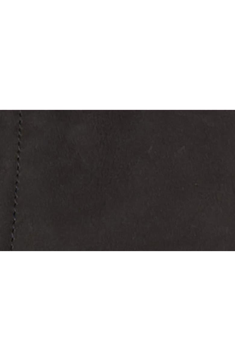ALLSAINTS Survey Slim Fit Leather Blazer, Main, color, 005