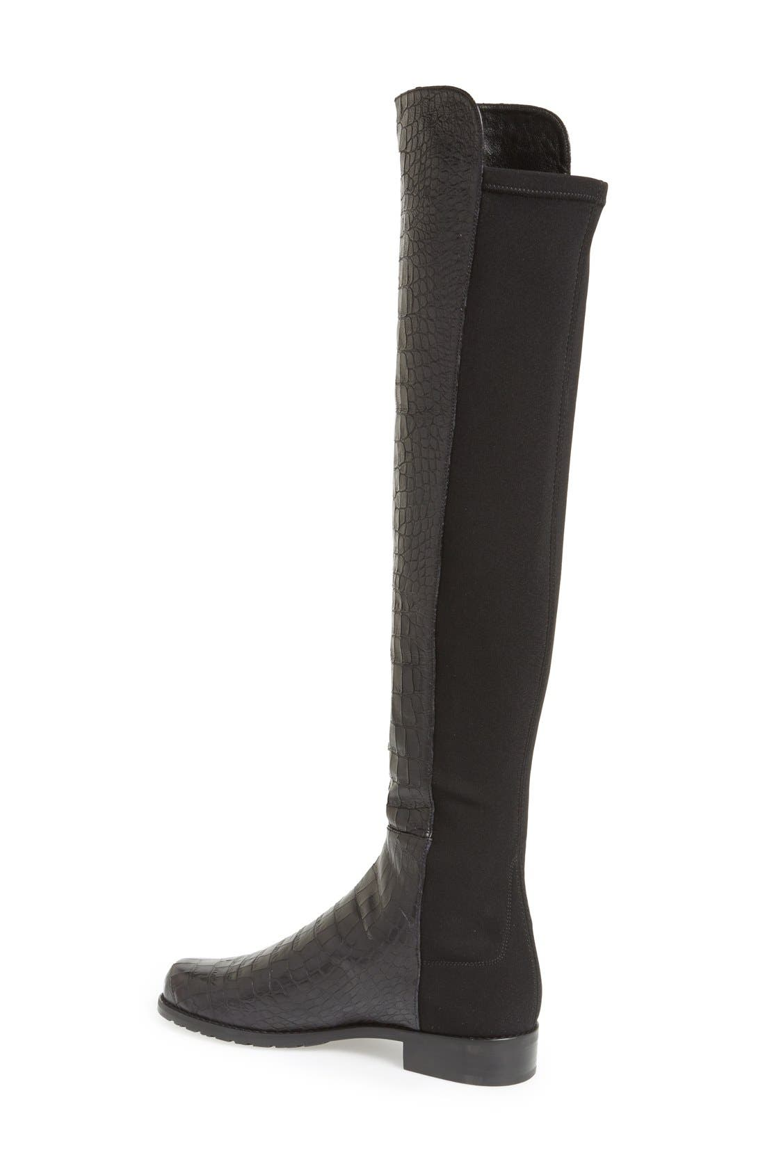 ,                             5050 Over the Knee Leather Boot,                             Alternate thumbnail 10, color,                             016