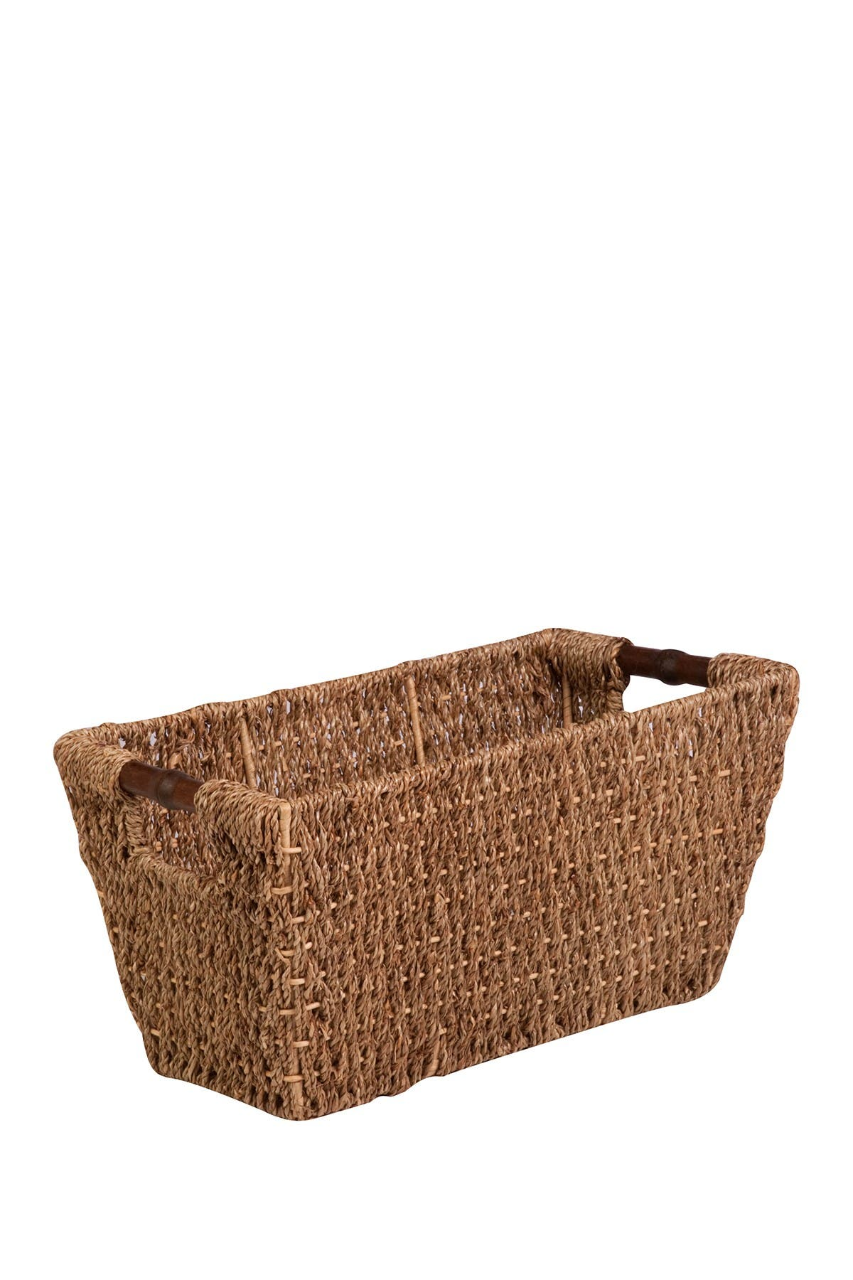 Image of Honey-Can-Do Medium Natural Seagrass Basket