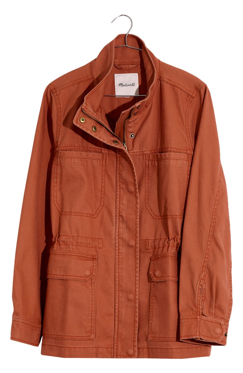 MADEWELL Dispatch Jacket, Main, color, WARM UMBER
