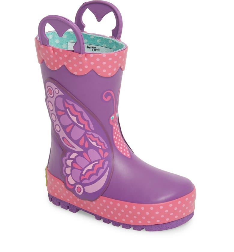 WESTERN CHIEF Betty Butterfly Rain Boot, Main, color, 511