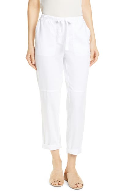 Eileen Fisher Pants ORGANIC COTTON ANKLE PANTS