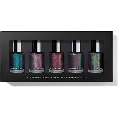 Static Nails Grunge Liquid Glass Nail Lacquer Palette - No Color
