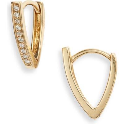 Bony Levy Kiera Diamond Bar Hoop Earrings (Nordstrom Exclusive)