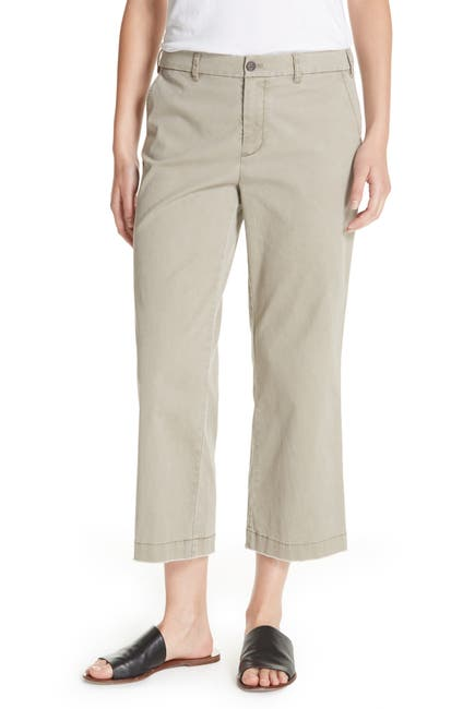 Image of ATM Anthony Thomas Melillo Enzyme Wash Crop Boyfriend Pants