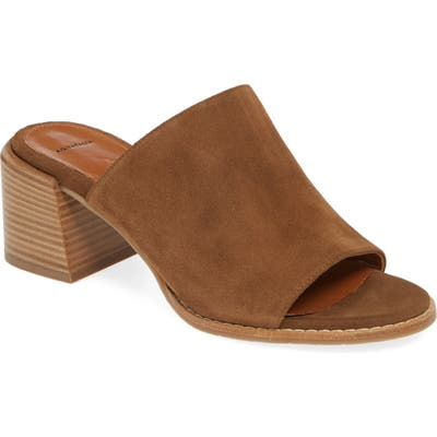 Aquatalia Jayne Slide Sandal- Brown