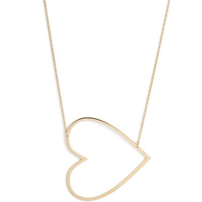 Jennifer Zeuner Marissa Heart Pendant Necklace