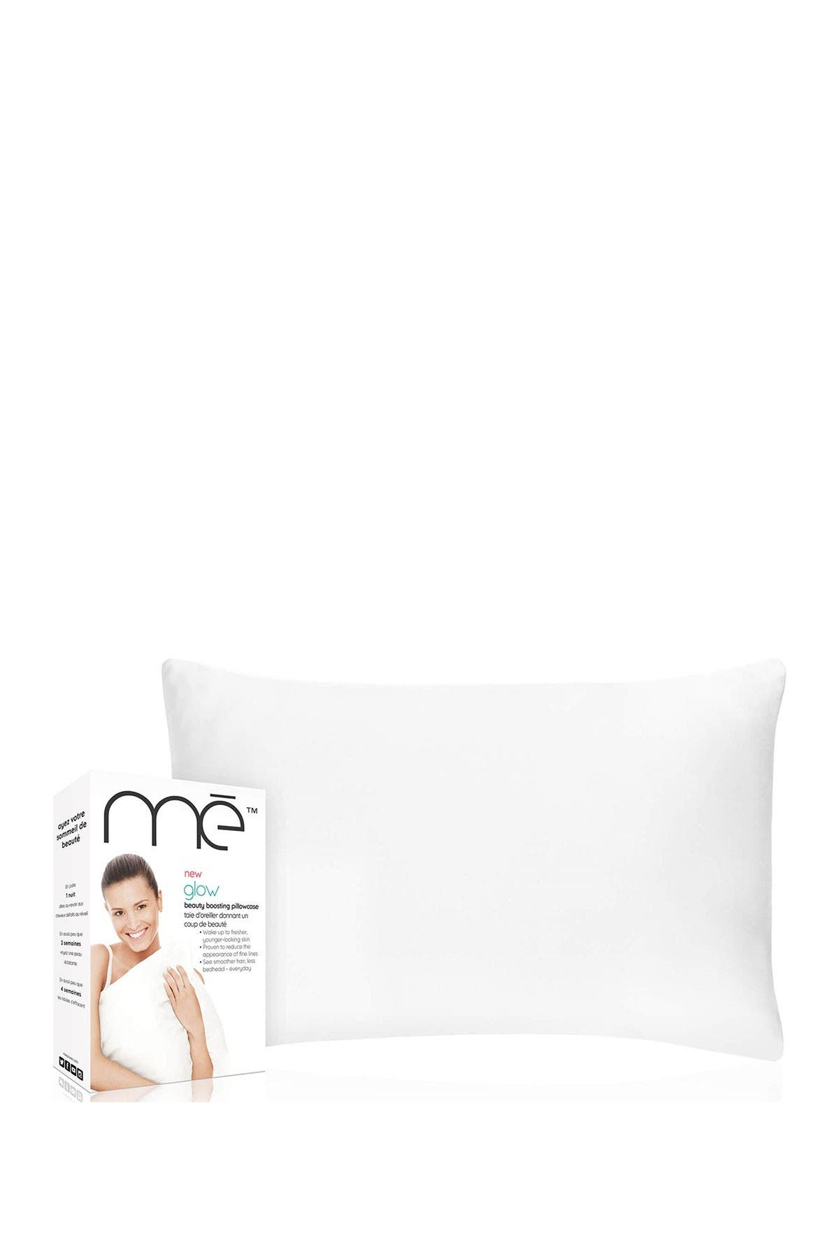 Me Glow Beauty Boosting Pillowcase - For Fine Lines Reduction w/ Anti-Aging Copper Technology