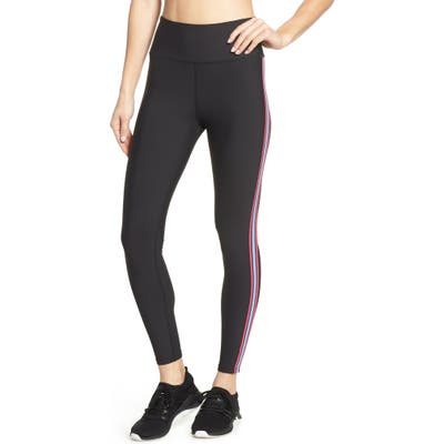 Soul By Soulcycle Contrast Stripe Tights, Black