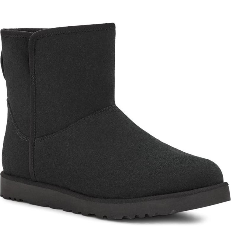 UGG Cory II Genuine Shearling Lined Boot, Main, color, BLACK