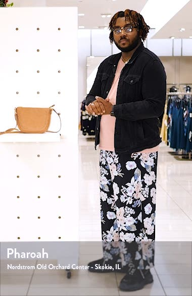 Riza Faux Leather Crossbody Bag, sales video thumbnail