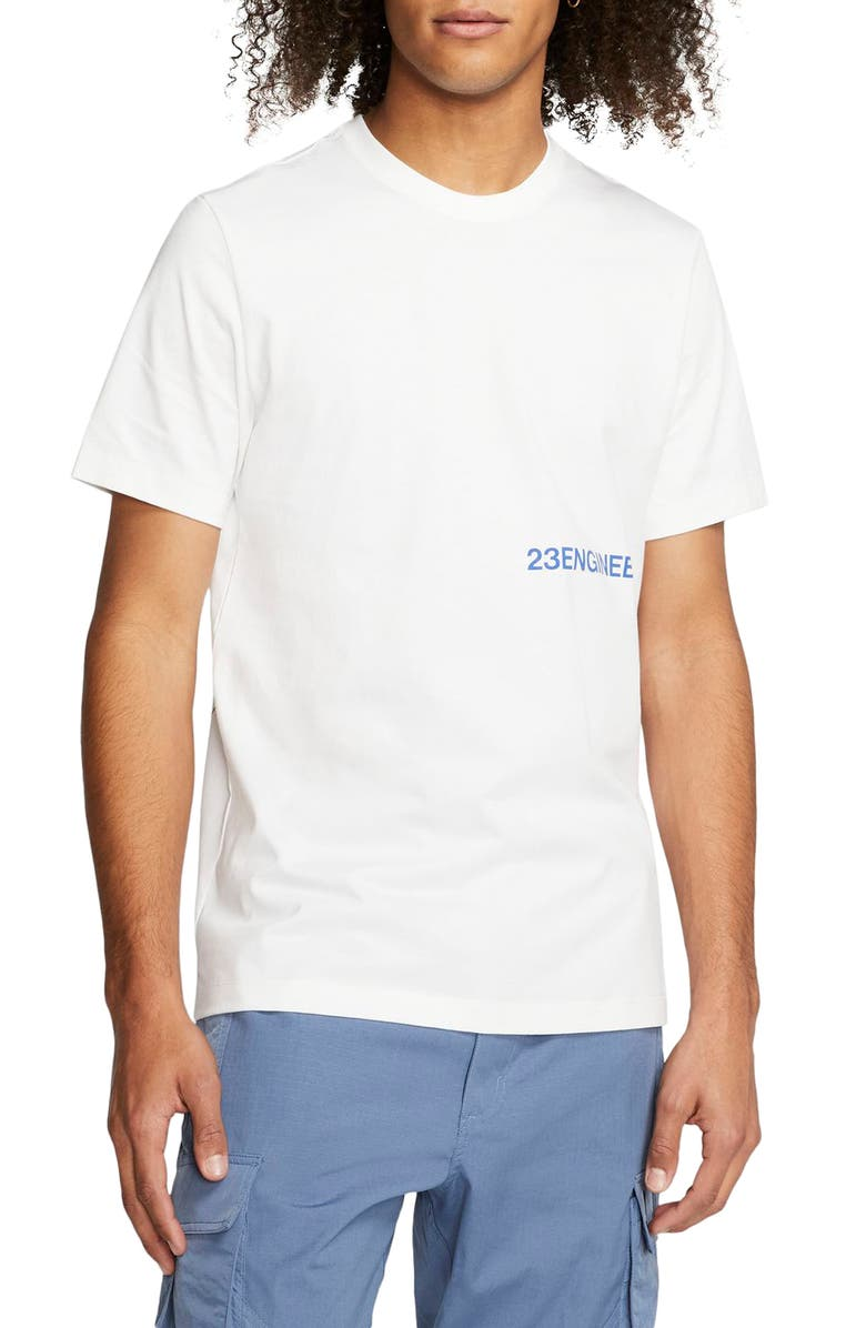 JORDAN 23 Engineered 365 Graphic T-Shirt, Main, color, WHITE
