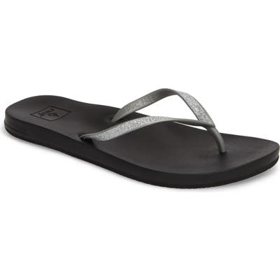 Reef Cushion Bounce Stargazer Flip Flop, Metallic