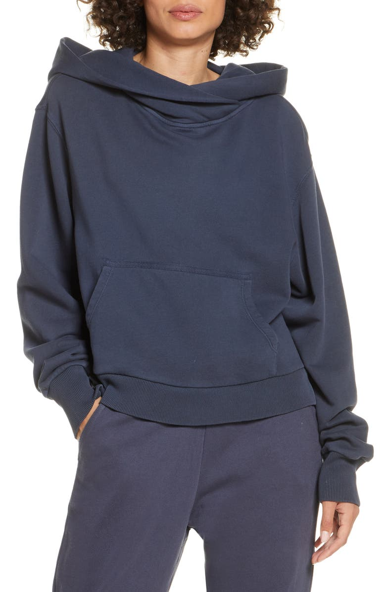 ZELLA Miami Hoodie, Main, color, NAVY INDIA INK