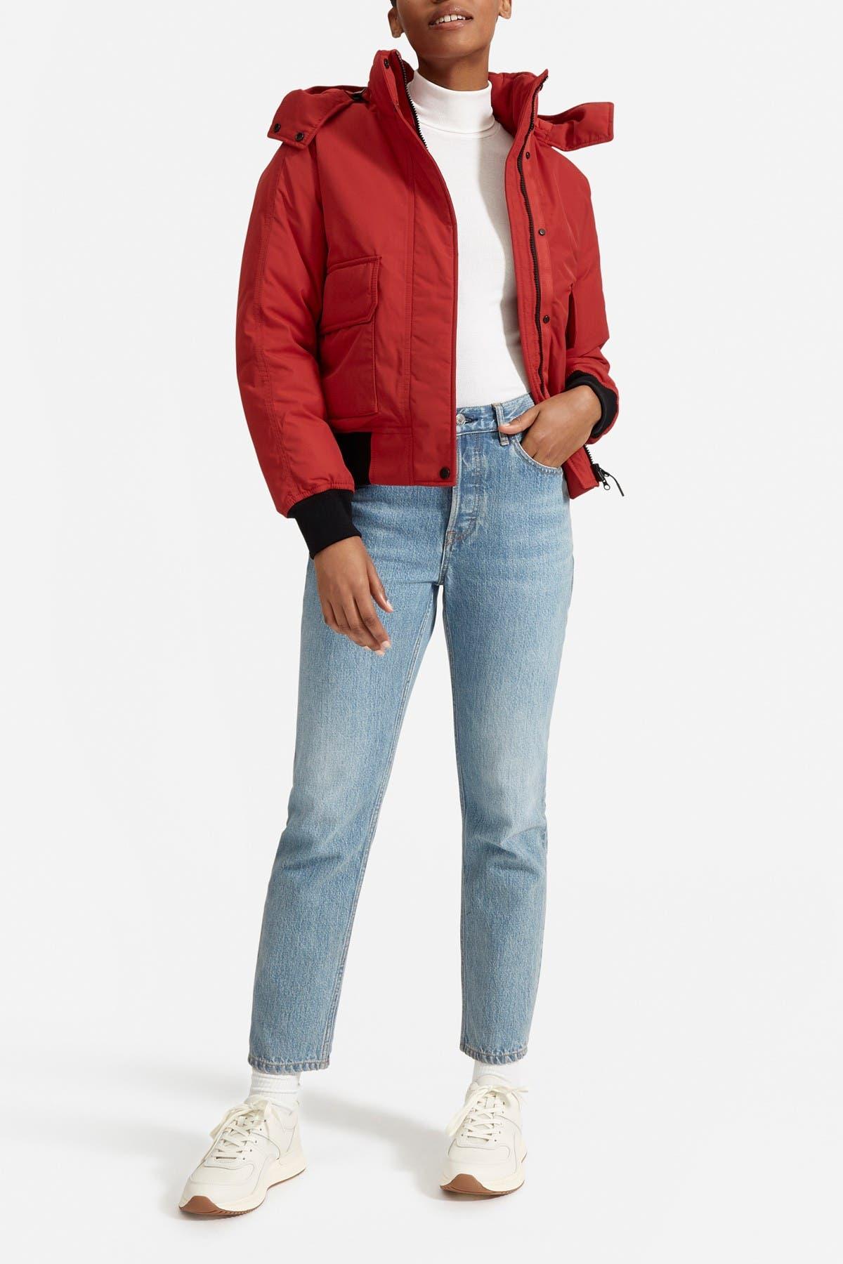 Image of EVERLANE The ReNew Heavyweight Bomber Jacket