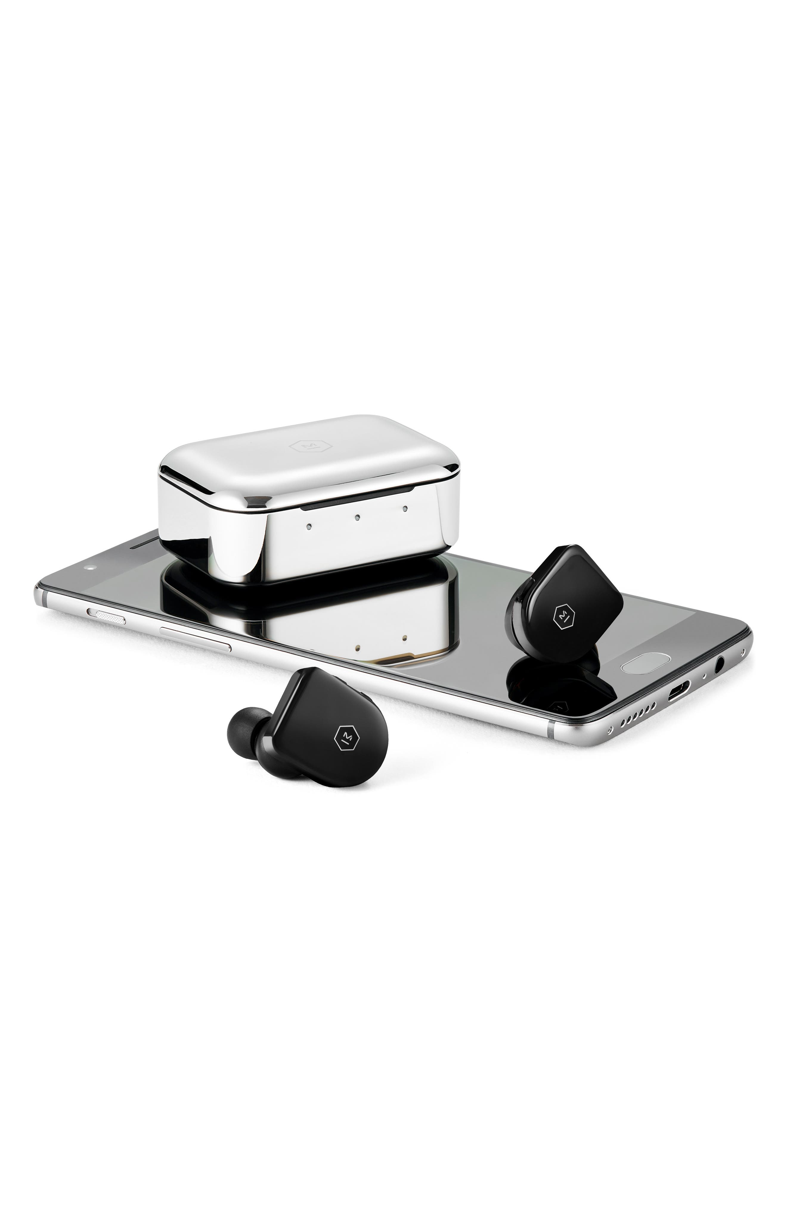 ,                             MW07 True Wireless Headphones,                             Alternate thumbnail 5, color,                             PIANO BLACK